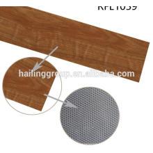 Facile abordable clidk tissé vente rétro lâche poser revêtement de sol en vinyle pvc