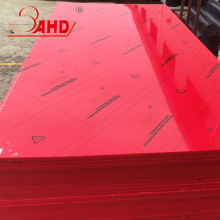 100%Virgin Red HDPE Sheets Sheet Boards