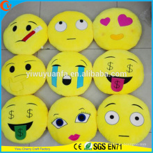 High Quality Charming Fashion Popular Various Designs Plush Emoji Pillow