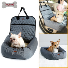 New Funtional Pet Booster Bed Deluxe Dog Pet Car Seat Cover Bed&Lounge