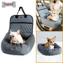 Nova Funcional Pet Booster Cama Deluxe Dog Pet Tampa de Assento Do Carro Bed & Lounge