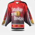 Tim Set Ice Hockey memakai Twill Logo Ice Hockey Jerseys