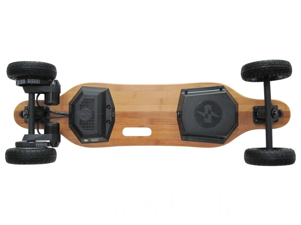 Black Electric Skateboard