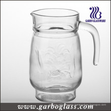 Glass Jug with Transparent Cover (GB1120LB)