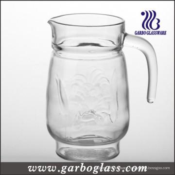 Glass Jug with Transparent Cover (GB1120LB)