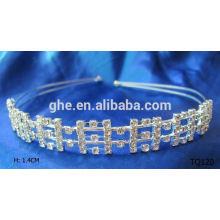 New fashion wholesale rhinestone leaf tiara