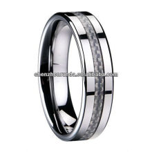 Runda Jewelry Tungsten Ring Carbon Fiber Ring Manufacturer & Supplier & Exporter