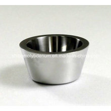 99.95% Pure Smooth Forged Molybdenum Crucible
