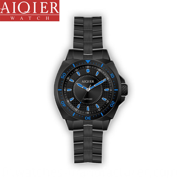 stainless steel waterproof sport men watch
