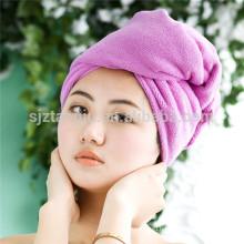 OEM Women Bathroom Super Absorbent Quick-drying Microfiber Bath Towel Hair Dry Cap Salon Towel 25x65cm