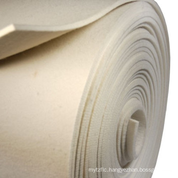 Nonwoven NOMEX felt filter cloth dust filter