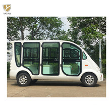 6 Person Four Wheel New Designed Electric Sightseeing Golf Vehicle