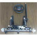 Golf cart front suspension system