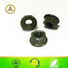 DIN6331 Hexagon Nut mit Kragen, verzinkt, M5 ~ M20
