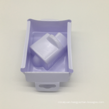 vacuum formed packaging white plastic blister tray