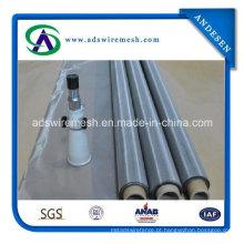 O Weave liso / Weave de sarja / Dutch tece a rede de arame de aço inoxidável do SUS 304