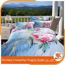 100% полиэстер печати ткани для постельного белья и других видов домашнего текстиля