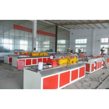 WPC MACHINE Wood Plastic Profile Extrusion Machine / WPC Plastic Profile Extruder
