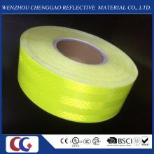 Fluoreszierendes gelbes Haustier-Sicherheits-reflektierendes Band / Material