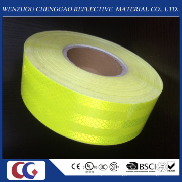 Fluorescent Yellow Pet Safety Reflective Tape /Material