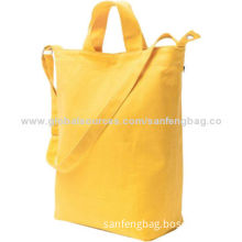 Canvas Tote & Shoulder Bags, 5.5 x 10 x 16-inches