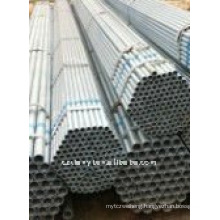A53 Hot dipped galvanized steel tube