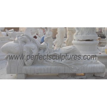 Резной камень мрамор скульптуры статуя гранита для украшения сада (SY-X1524)