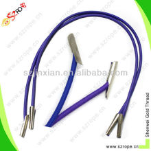 elastic cord with plastic end