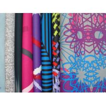 Tissu en polyester imprimé