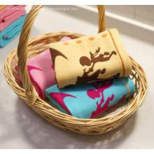 Gaze Baumwolle Handtuch mit Garn gefärbt Jacquard