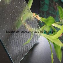 Lage E patroon getemperd glas voor decoratie (LWY-TG02)