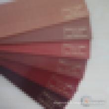 Tablas de madera de tilo persianas de madera de color