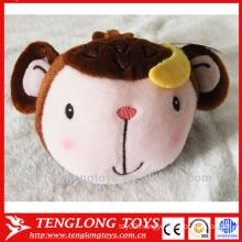 China promotion cute monkey plush cellphone holder