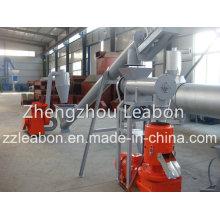 250-300kg / H Corda móvel do arroz Husk Pellet que faz a linha