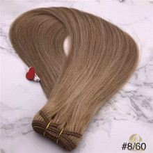 Cheveux de trame russe P8 / 60 Machine