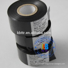 SCF900 Black foil type date code ribbon for expiry date batch number printing
