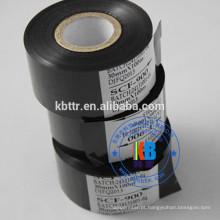 SCF900 Tipo de folha preta fita de código de data para a data de validade impressão do número do lote
