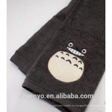 Темно-мило улыбаясь Тоторо полотенце для рук ХТ-067