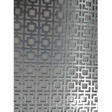 Panel de metal perforado para decorativos