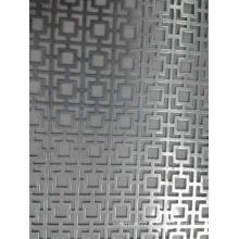 Panneau perforé en métal pour décoratif