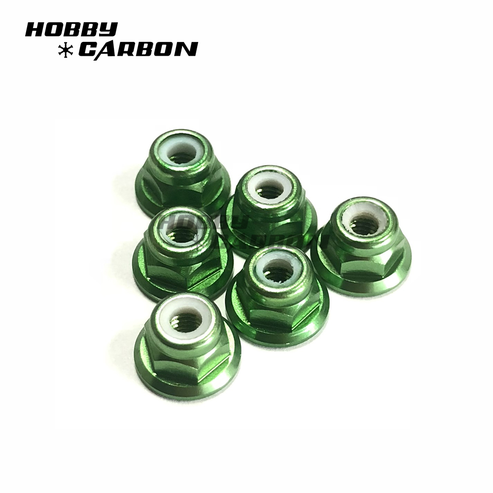 Green Nylon Nuts