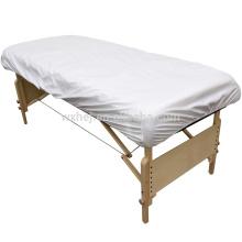 Wholesale 100% Cotton White Massage Table Bed Sheets