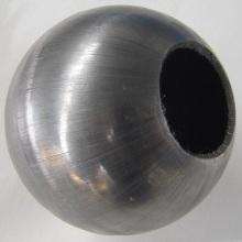 Fabrik-direktes Saling heißes galvanisiertes Röhrenhandlauf-System mit Ball-Zaun