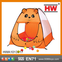 Kids Indian Tent Cartoon Bear Tent for Kids