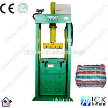 Blankets baling machine