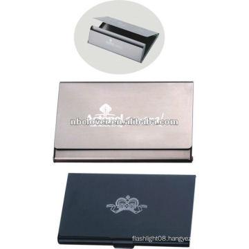 Aluminum personal name card