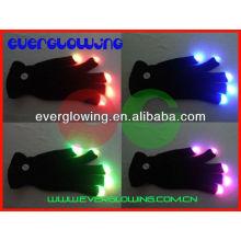 удивительные светодиодный свет палец перчатки горячие продаем 2016