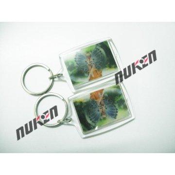 2015 Mini 3D Plastic Key Chain