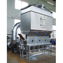 Secador de lecho fluidizado horizontal de Xf / máquina de sequía de la cama flúida para las materias primas del gránulo