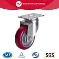 Medium 3 inch 150Kg Plate Swivel TPU Caster